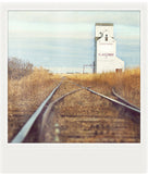 AS IS<br> Metallic Polaroid Magnet <br>Flaxcombe Saskatchewan