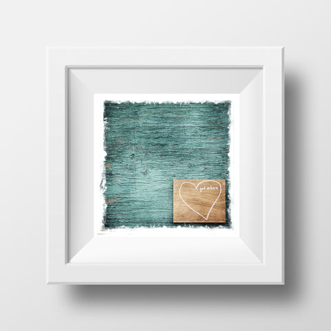 "CLEARANCE 5x5"" Fine Art Print <br>Get in Here <br> Metallic Finish"