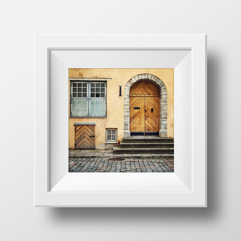 Discontinued Print <br>Historic Building Estonia<br> Matte FInish + Various Sizes