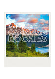 Metallic Polaroid Magnet <br> Greetings from the Canadian Rockies <br> Kananaskis Country