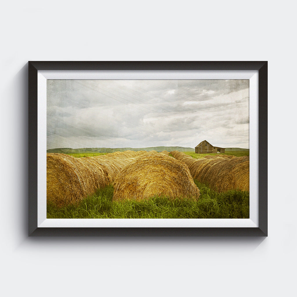 Summer Storm Approaching <br> Southern Alberta<br>Limited Edition Archival<br> Fine Art Chromogenic Print
