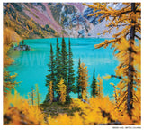 "Limited 6x7"" Print <br> Hidden Lake B.C <br> Satin Finish"
