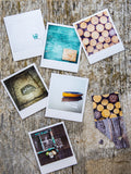Discontinued <br> Metallic Polaroid Magnet <br>Welcome to Paradise