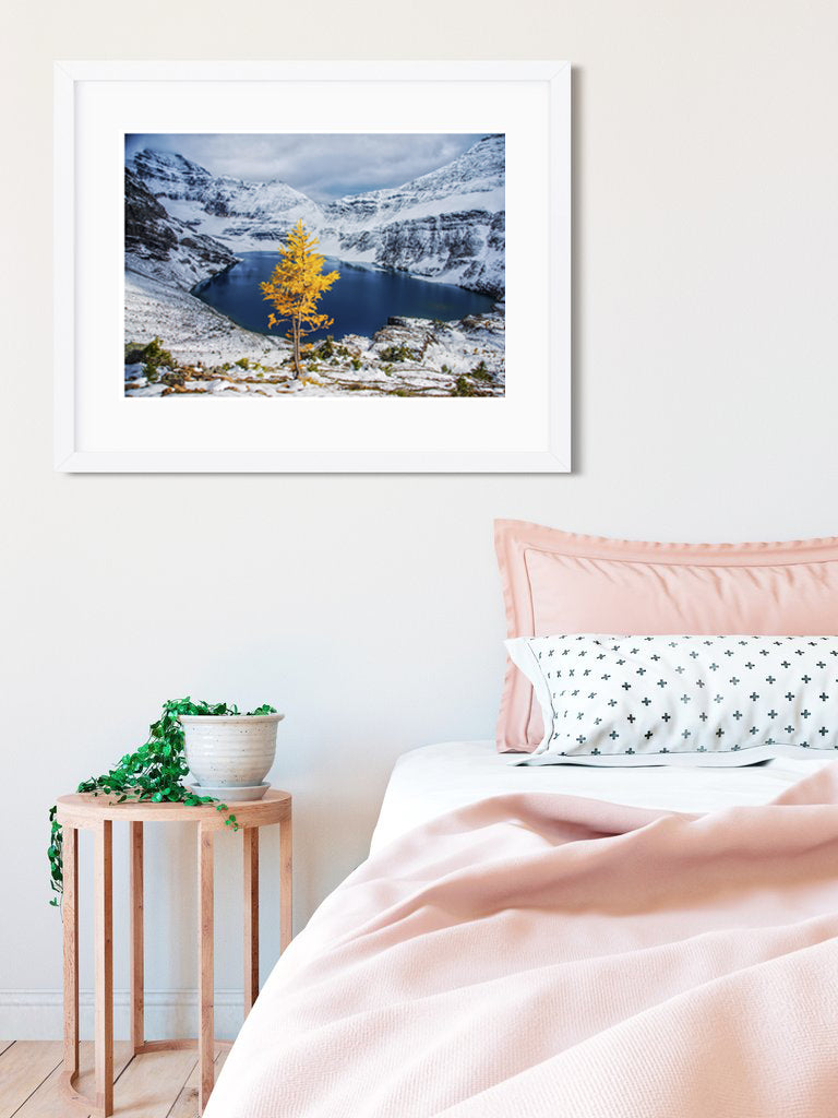 "DAY 11! <br>SPECIAL PRINTING for Ikea Frames! <br>Yoho National Park Canadian Rockies <br> 12x15"" Limited Edition Metallic Print"