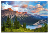 Kananaskis Sunrise<br> Alberta Canada <br>Limited Edition Archival<br> Fine Art Chromogenic Print