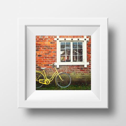 CLEARANCE Print <br>Vintage Bicycle in Finland<br> Various Finishes + Sizes
