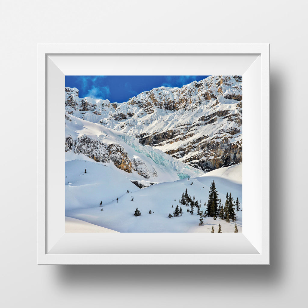 "CLEARANCE Limited 6x7"" Print <br> Kootenay Rocky Mountains<br> Satin Finish"
