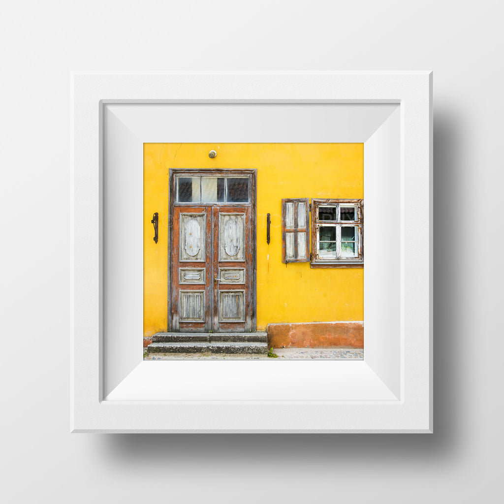SALE Print <br>Streets of Latvia<br> Metallic Finish + Various Sizes