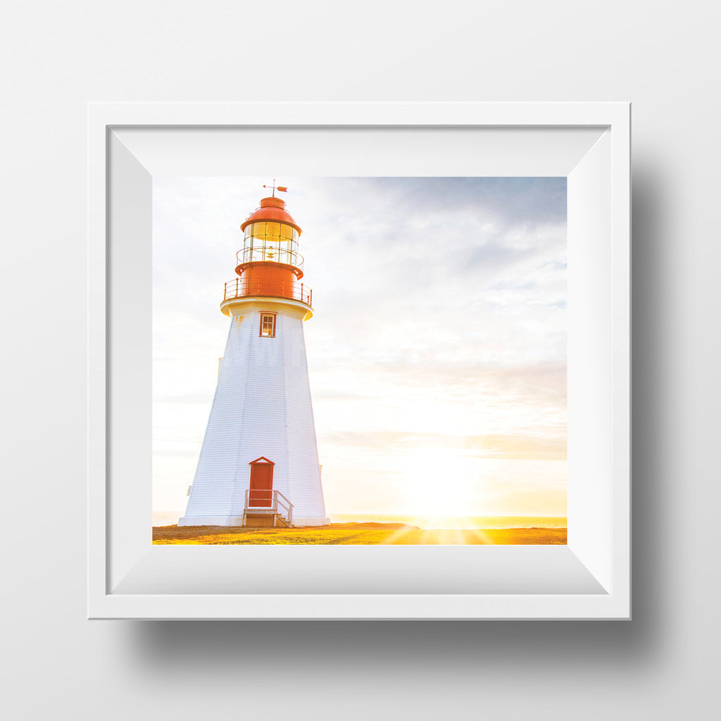 "Limited 6x7"" Print <br> Sunset in Newfoundland<br> Satin Finish"