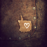 Discontinued Print <br>Heart on Tack Barn Chair<br>Various Sizes + Finishes