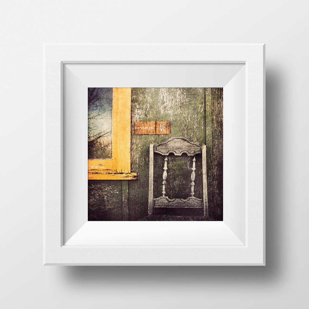 Live What You Love <br> Archival Fine Art Chromogenic Print