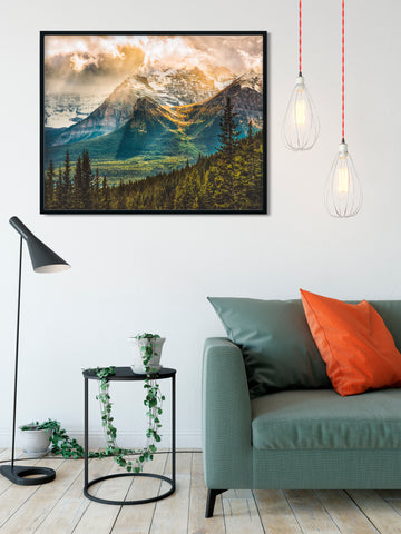 SPECIAL PRINTING <br>Larch Valley Banff National Park <br> Limited Edition Metallic Print