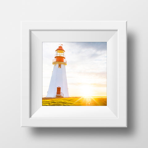 Point Riche Lighthouse<br>Newfoundland Canada<br>Archival Fine Art Chromogenic Print