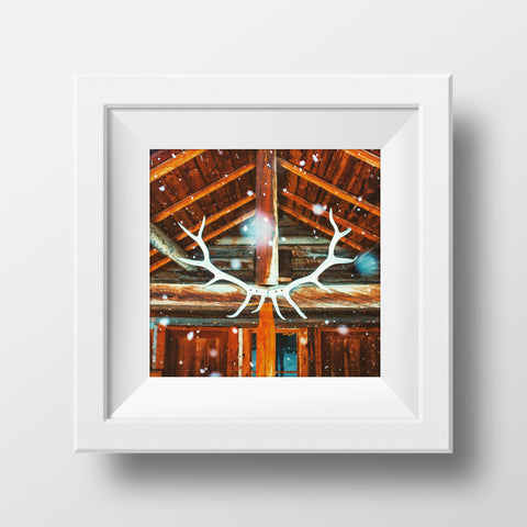 Backcountry Lodge<br>Banff National Park Canada<br>Archival Fine Art Chromogenic Print