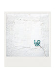 SALE<br> Metallic Polaroid Magnet <br>Love by Robert Indiana