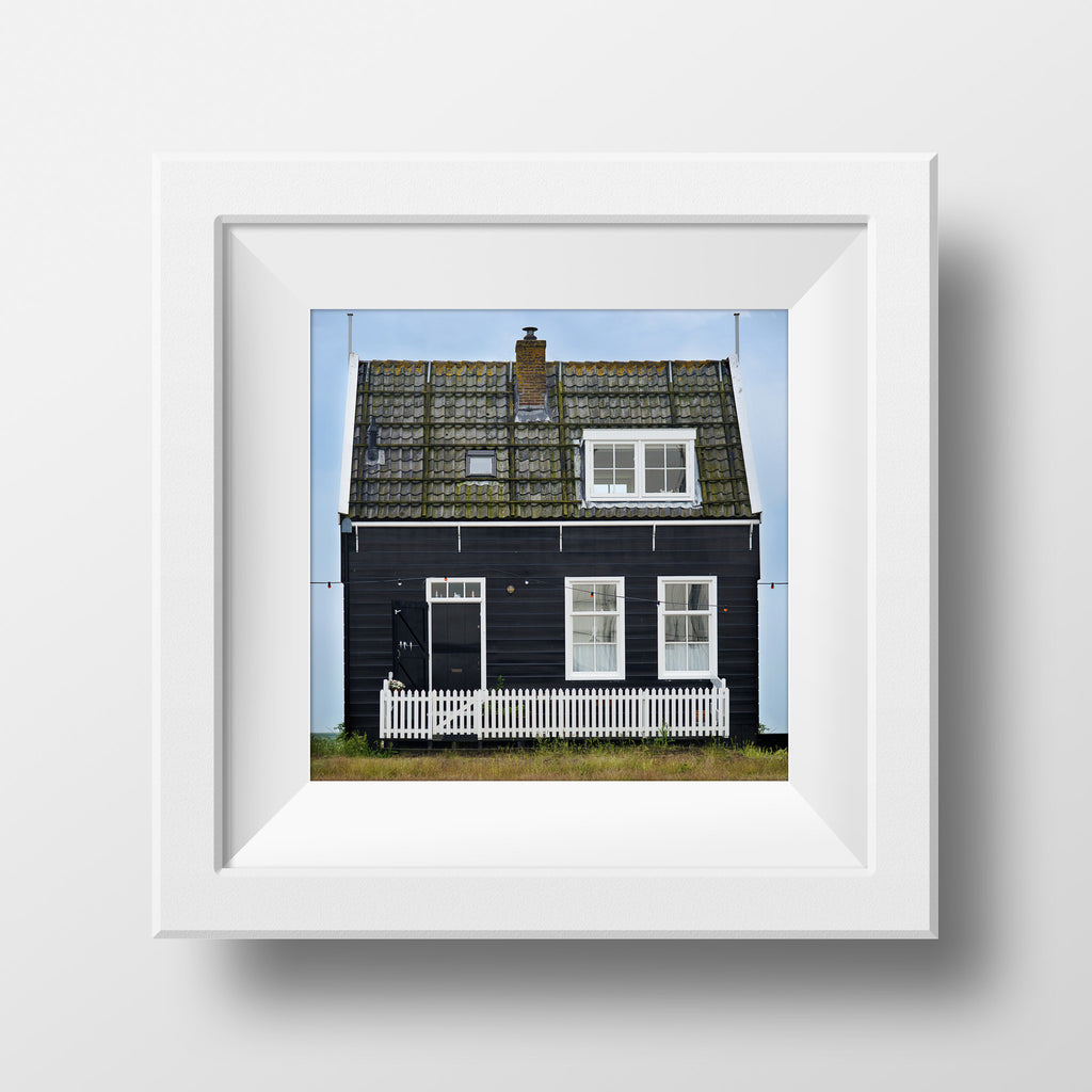 "Discontinued 8x8"" Print <br>Cottage in Holland <br>Various Finishes"