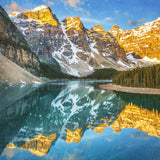 "SALE 12x12"" <br>Moraine Lake Spring Sunrise Banff National Park <br> Archival Fine Art Chromogenic Print"