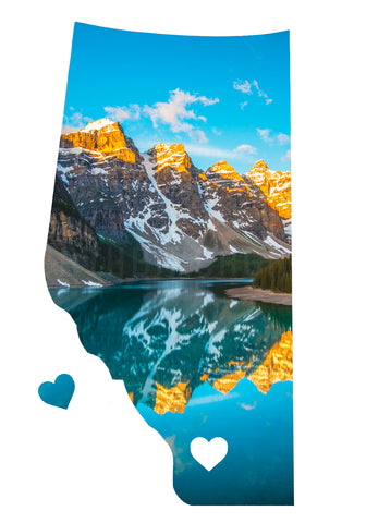 <br>Alberta Love Magnet <br>Moraine Lake