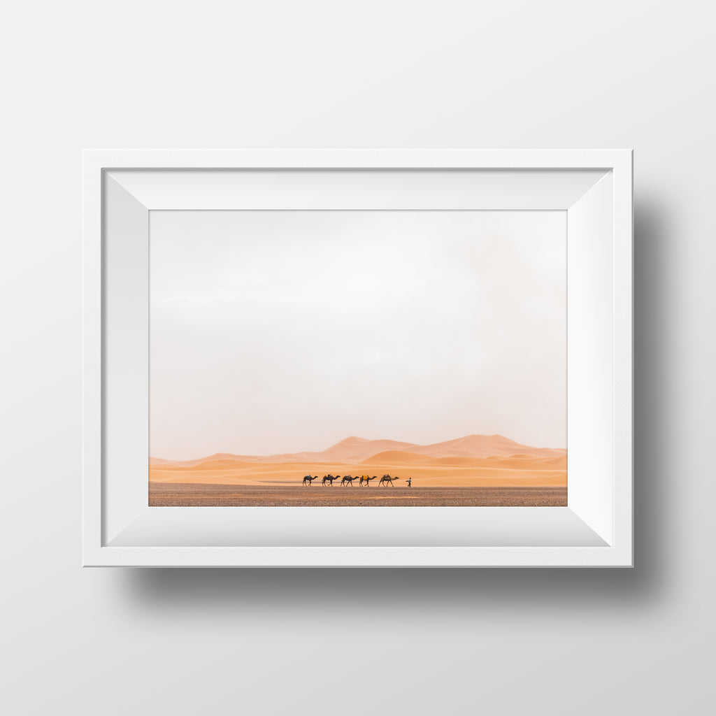Minimal Collection <br> Dunes of Merzouga Morocco  <br>Fine Art Chromogenic Print