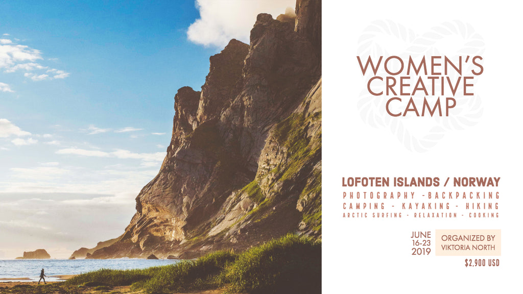 Women's Creative Camp in Norway //<br>JUNE 16-23 2019<br> Deposit