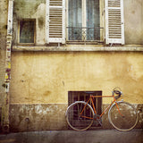 Vintage Bicycle in <br> Paris Borough Popincourt <br>Archival Fine Art Chromogenic Print