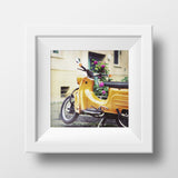 Discontinued Print <br>Vintage Scooter Berlin<br> Various Finishes + Sizes
