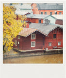 Discontinued <br> Metallic Polaroid Magnet <br>Finland in Autumn