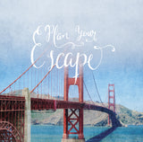 "Discontinued 5x5"" Print <br>Plan Your Escape <br> Textured Matte Finish"