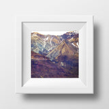 "DISCONTINUED 5x5"" Print <br> Mountains in Iceland <br>Various Finishes"