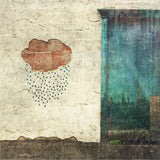 Rain Cloud Street Art <br> Banff Alta <br>Archival Fine Art Chromogenic Print