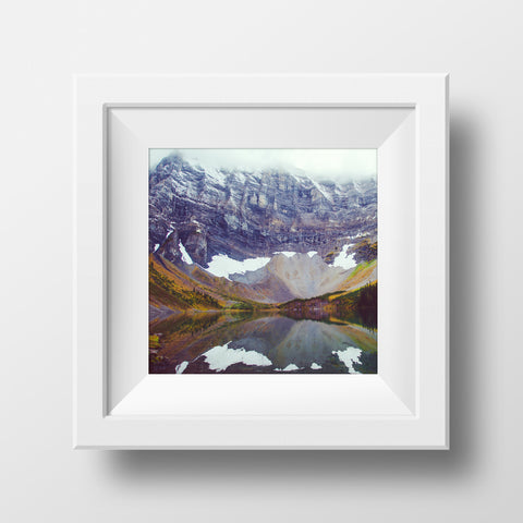 "CLEARANCE 12x12"" Print <br>Rawson Lake Alberta<br>Various Finishes"