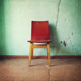 "Discontinued 10x10"" Print<br>Vintage Chair in Estonia<br> Matte Finish"