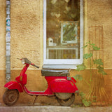Discontinued Print <br>Vintage Red Scooter Berlin<br> Various Finishes + Sizes