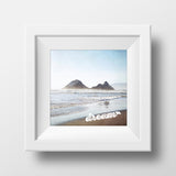 "Discontinued 5x5"" Print <br>Remember to Dream <br> Textured Matte Finish"