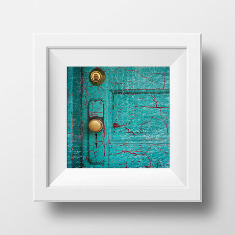 Antique Door <br> Revelstoke BC <br>Archival Fine Art Chromogenic Print<br>