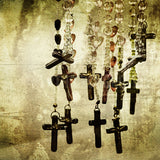 Discontinued Print <br>Rosaries<br> Various Finishes + Sizes