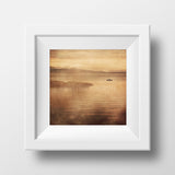 "Discontinued 8x8"" Print <br>Sunset on San Juan Island<br> Various Finishes"