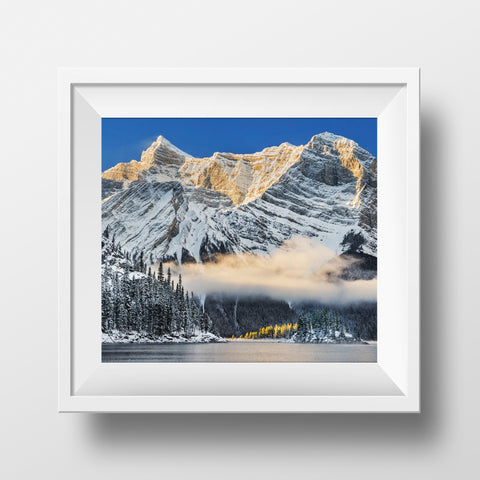 "Limited 6x7"" Print <br> Kananaskis Lakes Alberta<br> Satin Finish"
