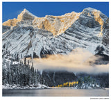 "CLEARANCE Limited 6x7"" Print <br> Kananaskis Lakes Alberta<br> Satin Finish"