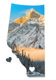 <br>Alberta Love Magnet <br>Upper Kananaskis Lake