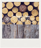 CLEARANCE <br> Metallic Polaroid Magnet <br>Sending My Love To You