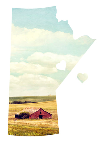 SALE <br>Manitoba Love Magnet <br>Farm in Summertime