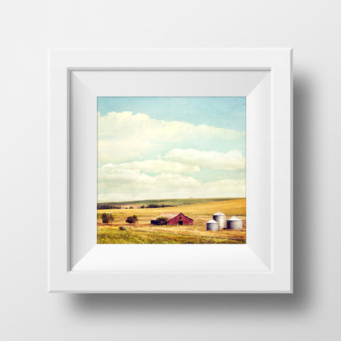 Farmstead in Summer <br> Standard Alberta <br>Archival Fine Art Chromogenic Print