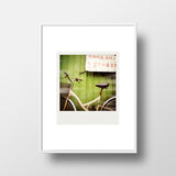 CLEARANCE<br> Metallic Polaroid Magnet <br>Bicycle in Taiwan