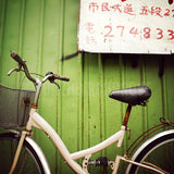 CLEARANCE Print <br>Bicycle in Taiwan<br> Various Finishes + Sizes