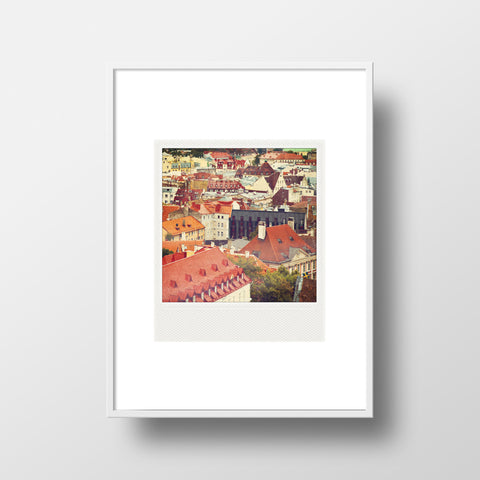 CLEARANCE <br>Metallic Polaroid Magnet <br>Tallinn Estonia