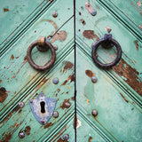 Antique Door Detail <br>Tallinn Estonia<br>Archival Fine Art Chromogenic Print