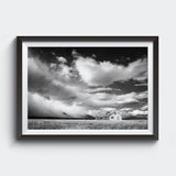 Kuva Collection <br>Storm Rolling In <br>Grand Tetons Wyoming <br>Limited Release Archival B+W Fine Art Print