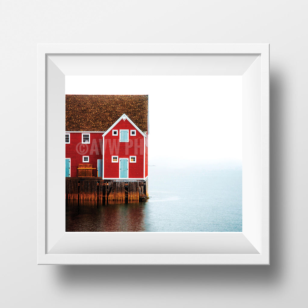 "CLEARANCE Limited 6x7"" Print <br> Trinity Newfoundland<br> Satin Finish"