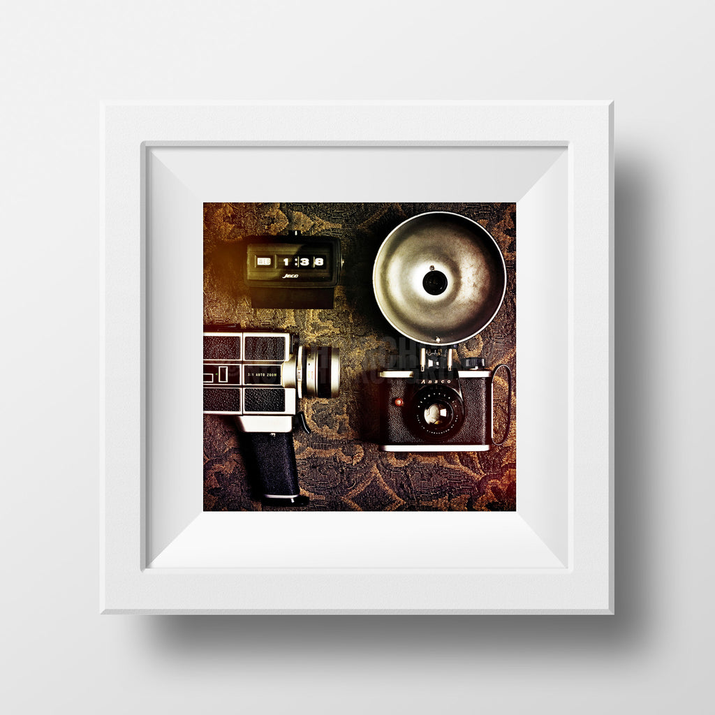Discontinued Print <br>Vintage Media Collection <br>Various Finishes + Sizes